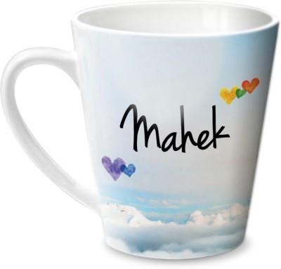Hot Muggs Simply Love You Mahek Conical  Ceramic Mug
