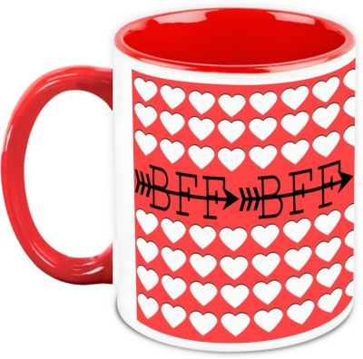 HomeSoGood Gift For Friend - Best Friend Forever Ceramic Mug