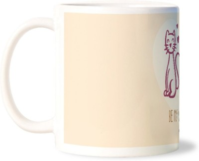 Lovely Collection Be My Valentine Ceramic Mug