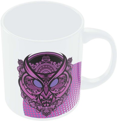 PosterGuy Pop Art Owl Eccentric Digital Art Ceramic Mug