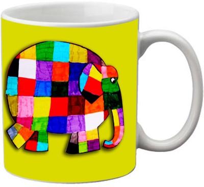 Romanshopping Elephant  Bone China Mug