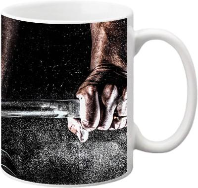 ezyPRNT Body bulding Ceramic Mug