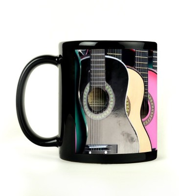 Shoperite Guitar Colours Ceramic Mug