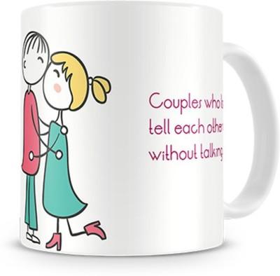 Print Haat Couple Love Anniversary Ceramic Mug