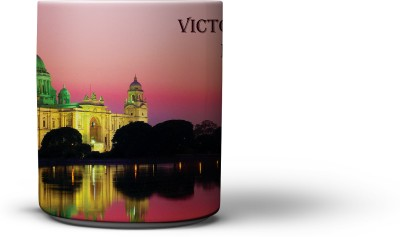The Nodding Head Victoria Memorial Ceramic Mug