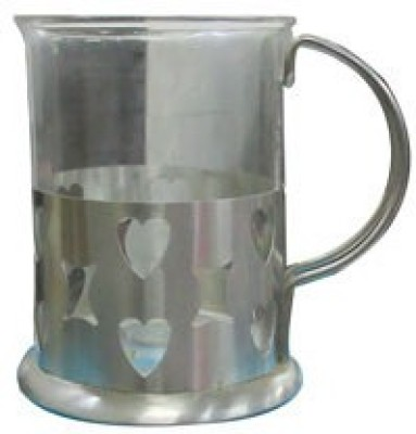 Blue Birds USA Home Ware Irish  Glass, Stainless Steel Mug