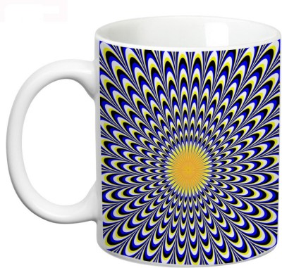Prithish Pscychological Illusions Design 6 Ceramic Mug