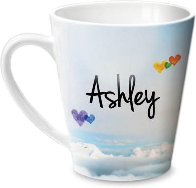 Hot Muggs Simply Love You Ashley Conical  Ceramic Mug