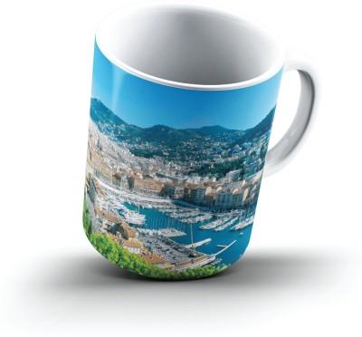 Ucard Nice France2549 Bone China, Ceramic, Porcelain Mug