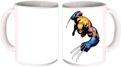 Shopkeeda Wolverine Ceramic Mug