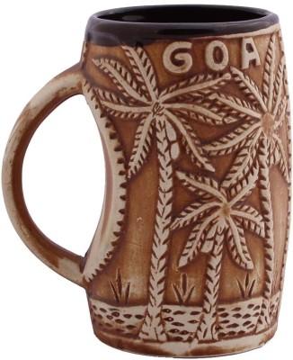 Aarzool 3D Goa Theme Ceramic Mug