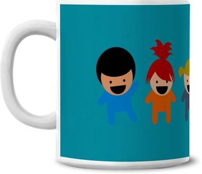 Lovely Collection Colourfull Kids Ceramic Mug