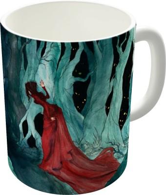 Dreambolic Snow White Lost In The Woods Ceramic Mug