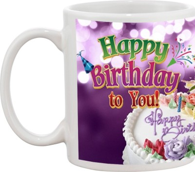 Tia creation Happy Birthday To You Ceramic Mug