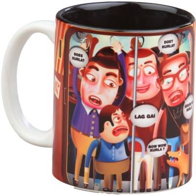 Imagica Mumbai Train Ceramic Mug