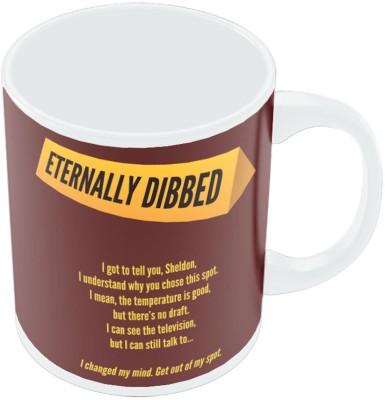 PosterGuy Eternally Dibbed Sheldon The Big Bang Theory Ceramic Mug