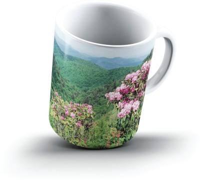 Ucard Landscape382771 Bone China, Ceramic, Porcelain Mug
