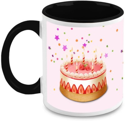 HomeSoGood Sixteen Birthday Cake Ceramic Mug