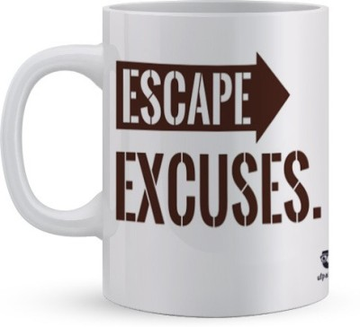 Utpatang Escape Excuses  Ceramic Mug