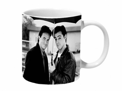 Mooch Wale Joey And Chandler Best Of Friends Ceramic Mug
