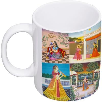 My Insignia Rajasthani Collage Ceramic Mug