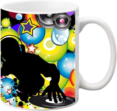 ezyPRNT D J Night Ceramic Mug
