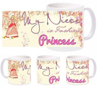 Snapgalaxy Niece Fashion Princess Ceramic Mug