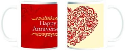 Refeel Gifts Happy Anniversary Ceramic Mug