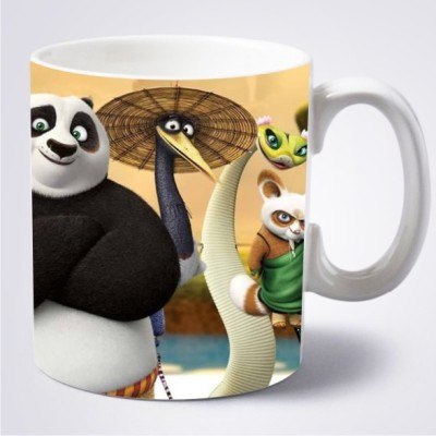 Big Idea Kung Fu Panda Ceramic Mug