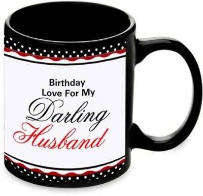 alwaysgift Bithday Love For My Darling Husband  Ceramic Mug