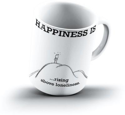 Ucard Happiness Is1291 Bone China, Ceramic, Porcelain Mug
