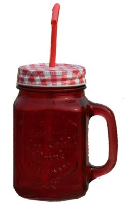 Armanndesigns Mason Jar Glass Mug