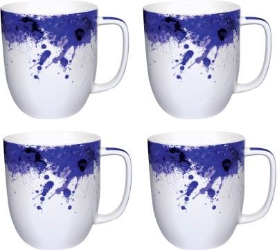 Kudos Splatter Indigo Anh-300 (4 Pc) Ceramic Mug