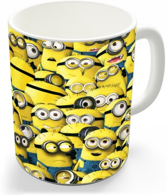Shoppers Bucket Minion Ceramic Mug