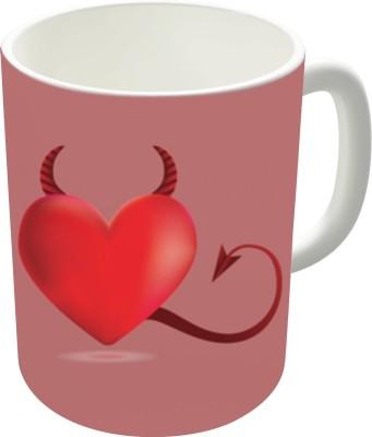 The Fappy Store Evil Heart 2 Ceramic Mug