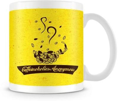 The Souled Store. Caffeinoholics Anonymous Ceramic Mug