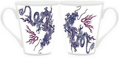 HomeSoGood The Biggest Dragon (Qty 2) Ceramic Mug