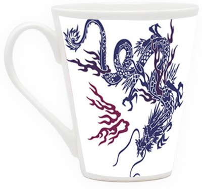 HomeSoGood The Biggest Dragon Ceramic Mug