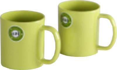 Iveo Green Smart Milk - 2 Pieces Set Melamine Mug