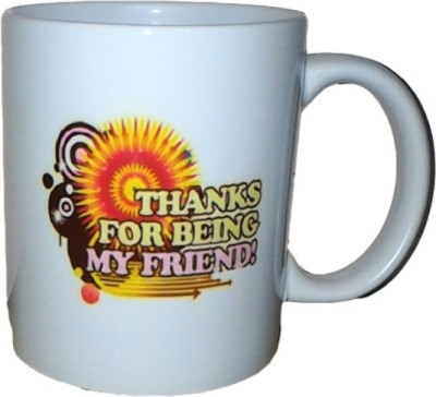Exxact Thanks For Being My Friend Ceramic Mug