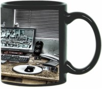 Printland Printland Nice Black Coffee 350 - ml Ceramic Mug(350 ml) best price on Flipkart @ Rs. 349