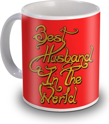 Sky Trends Best Husband In The World Special Valentines Gifts Ceramic Mug