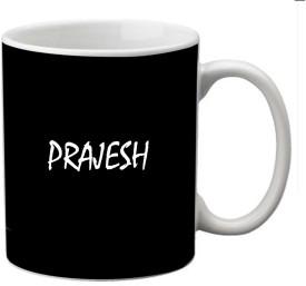 meSleep Prajesh-17858 Ceramic Mug(330 ml)