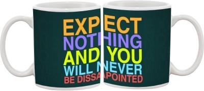 Goonlineshop Expect Nothing Ceramic Mug