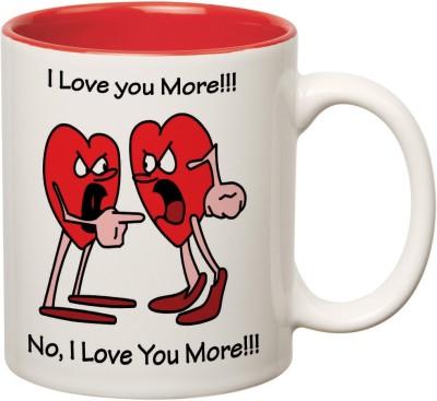 Mugwala I Love You More-Couple Ceramic Mug