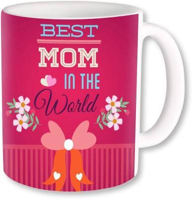 A Plus Best Mom in the World.jpg Ceramic Mug