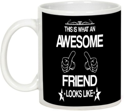AllUPrints Friendship Day Gifts - Awesome Friends Look Like Ceramic Mug
