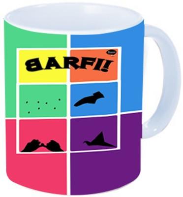 Rawkart barf Ceramic Mug