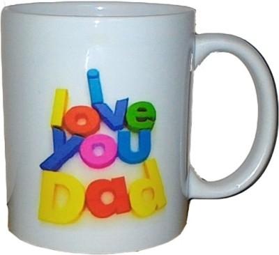 Exxact Love You Dad Ceramic Mug