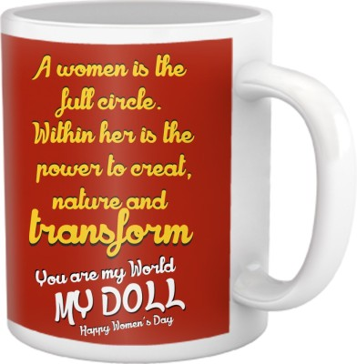 Tiedribbons You Are My World My Doll Coffee Ceramic Mug